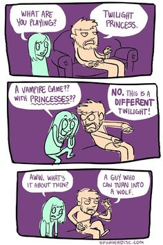 Teen girls and Twilight princess!