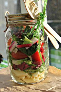 take away Salad for the job :-)
