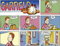 """Garfield comics 