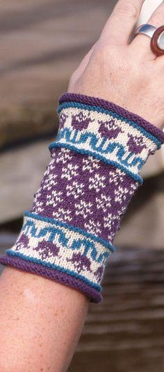 Armstulpen - MärZig - MARA Cotton-Bambus - ein Designerstück von Strickkoenigin-Elke bei DaWanda