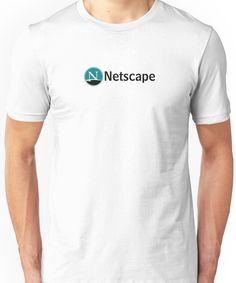Vintage Netscape logo, 1994 Unisex T-Shirt
