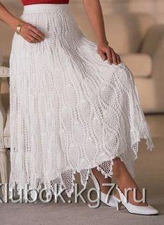 Белоснежная юбка