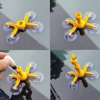 Product Specifications: Color: Yellow&transparent Material: plastic Size: 22cm * 11cm * 2.5cm 1. Abo