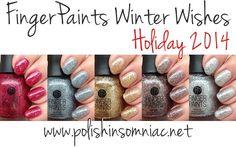 polish insomniac: FingerPaints Winter Wishes ♥ Holiday 2014