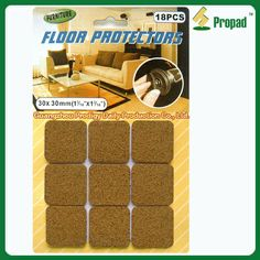 Chair leg cover pad C6F30 Adhesive cork pad is for putting or sticking the floor protector on the feet of furniture or appliances,  suitable to prevent furniture moving, avoid household objects bumping each other to damage, reduce attrition, searching and noise.   Felt pad, EVA pad, Cork pad for Choosing.  Different shapes, sizes, colors and customized combination available.