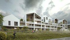 Projet de logements: MFR Architectes & Kalelithos à Saint-Jean-de-Vedas / SERM
