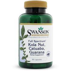225 mg Catuaba Bark per capsule 225 mg Guarana Seed per capsule 225 mg Kola Nut per capsule
