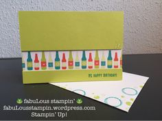 Stampin' Up! Bubble Over OnStage November 2017 present new stamp set bundle Bubble Over occasion catalogue SAB Bubbles and Fizz DSP