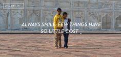 http://onedayin.es/ofrece-siempre-tu-sonrisa-pocas-cosas-cuestan-tan-poco/
