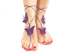 Hey, I found this really awesome Etsy listing at https://www.etsy.com/listing/176202668/butterfly-barefoot-sandal-barefoot