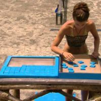 A Numbers Game is a recurring challenge of Survivor. Castaways must race across a balance beam...