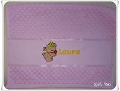 Toalha de lavabo personalizada tema ursinha
