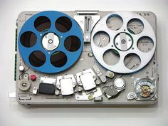 Nagra. This was just the coolest -and most expensive- tape recorder 30 years ago. A mechanical masterpiece.