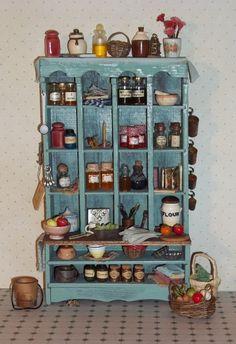 Dollhouse Miniature Country Farmhouse Kitchen by CountryMini, $155.00