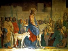"Palm Sunday - ""Lord, we lift up your name with hearts full of praise; be exalted, O Lord my God! Hosanna in the highest!"""