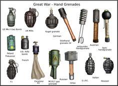 ww1 hand grenades by AndreaSilva60 on DeviantArt