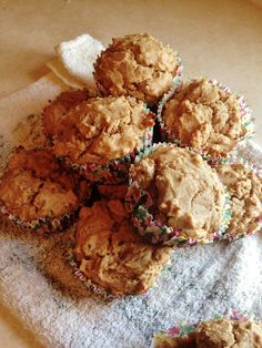 Healthy Granola Nut Muffins! No butter and only a tablespoon of sugar for the whole recipe!   carrotcakekitchen.com