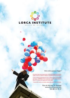 Creatividade para Lorca Institute. Lanzamento da nova identidade corporativa. #santiagodecompostela #galicia #mirandapriestly #coralia #brand #sky #red #blue #england Miranda Priestly, Nova, Movie Posters, Movies, Corporate Identity, Santiago De Compostela, Eyelashes, Film Poster, Films