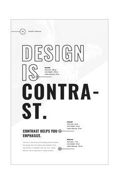 Graphic Designing Internship In Ahmedabad Web Design, Font Design, Layout Design, Text Layout, Typography Poster, Graphic Design Typography, Typography Tattoos, Plakat Design, Principles Of Design