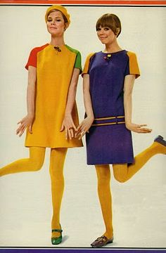 fashion feature from august 1967 seventeen magazine I wore dresses just like this in High School