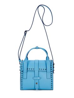 Stud North Moore Leather Satchel from Accessory Pop: Handbags Under $200 on Gilt