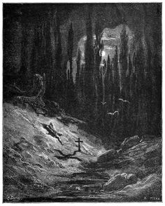 Gustave Doré, from Atala, by François-René de Chateaubriand, New York, 1889.