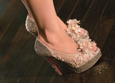 Christian Louboutin heels custome designed and worn by Christina Aguilera in the movie Burlesque .....