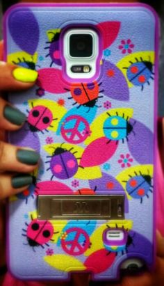 "Case Samsung Galaxy note 4 ""lady bugs"" $20"