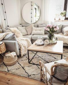 Inspirational Modern Living Room Decor Ideas l&; Inspirational Modern Living Room Decor Ideas l&; New Living Room, Home And Living, Living Room Decor, Modern Living, Cozy Living Rooms, Modern Room, Luxury Living, Modern Decor, Living Room Inspiration