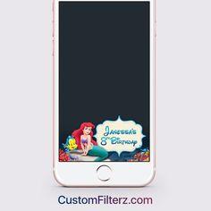 Little Mermaid themed Geofilter