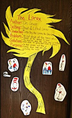 truffula tree Lorax - Character Setting Problem Solution  Authors Purpose