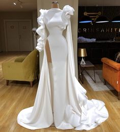 Saturdays are for wedding Prom Dresses Long With Sleeves, Mermaid Prom Dresses, Cute Dresses, Sexy Dresses, Beautiful Dresses, Fashion Dresses, Event Dresses, Formal Dresses, White Evening Gowns
