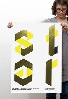 Studio Laucke Siebein, Isostar — Type design for Zeeburg Typefoundry