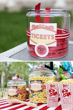15 Super Fun Movie Party | http://sweetpartygoods.blogspot.com