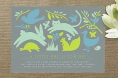 Prairie Tale Baby Shower Invitations by Moglea at Minted.com