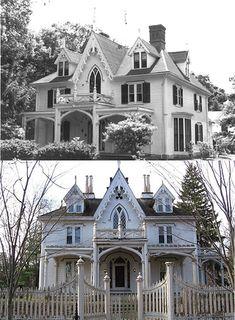 William H. Mason House (c1845) - Gothic Revival
