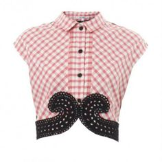 the ultimate gingham crop.