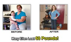 Mary Ellen lost 60 pounds! Read her weight loss story to learn how she did it.