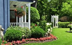 These three beautiful home decorating ideas are great ways to decorate the outside of your home for the spring and summer seasons.Planting colorful blooming flowers in your yard is a great exterior home decor tip that creates great curb appeal. Small Front Yard Landscaping, Landscaping Ideas, Backyard Ideas, Colorado Landscaping, Backyard Landscaping, Garden Ideas, Alcohol Ink Glass, Step By Step Painting, Chalk Pastels
