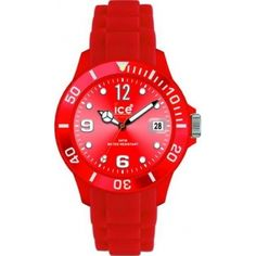 f17ee416cc Ice-Watch 000139 Sili Forever Red Strap Watch Montre, Rouge, Ice Watch,