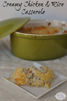 #ad Easy Chicken and Rice Casserole #JustAddTyson #cbias