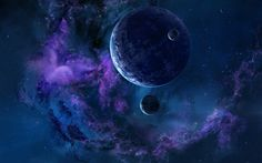Image for Space Stars And Planets Wallpaper