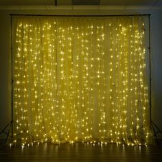 White Led Lights, White Light, String Lights, Photo Booth Backdrop, Star Sky, Party Lights, White Lead, Wedding Supplies, Curtain Rods