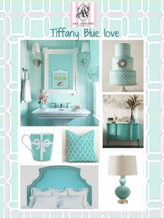 tiffany blue..it's my favorite color :)