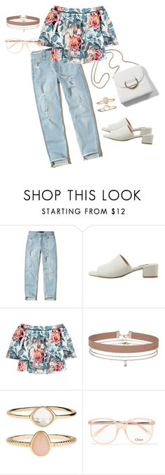 """Milan Outfit Idea #2"" by kidrauhlbshawty ❤ liked on Polyvore featuring Hollister Co., MANGO, Elizabeth and James, Miss Selfridge, Accessorize, Chloé, milan, fashionset, springlook and polyvorefashion"