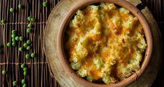 Αρακάς φούρνου με πουρέ πατάτας