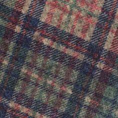Tissu jersey lainage - vert x 10cm