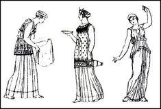 Greek Dress - Grecian Ladies