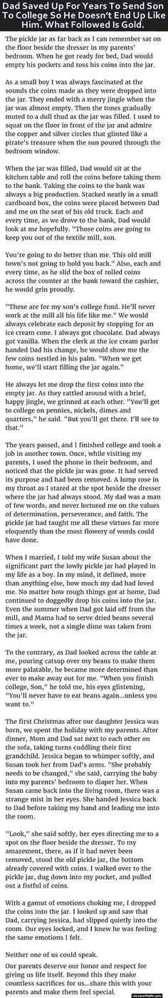 Dad Saved Up For Years To Send Son To College So He Does Not End Up Like Him. What Followed Is Gold.