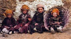 Children Wearing Traditional Clothes, Zanskar, India by jordipostales, via Flickr